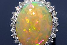 Opals AIG Appraisal / These items were appraised for clients in the Lab of American International Gemologists.