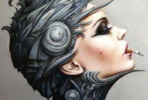 Art Viveros / Lady beautiful