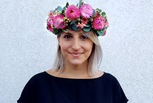 Flower Crowns and Wearable Flowers / Flower crowns for fun and boho brides