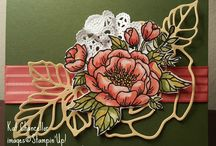 cartes dies rose