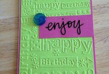 Birthday Cards / Homemade birthday cards