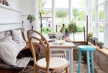 Sunny home / Conservatories, garden rooms, sunrooms, wintergarden, porch, balconies and terraces