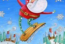 Рисунки Merry Christmas