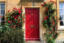Colorful doors / awesome home exterior doors
