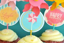 Party - Girl / Girls party printables / by Gralyne Watkins