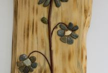 Wooden paintings