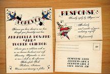Rockabilly/Pin up wedding ❤ / 50s wedding ideas