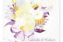 Blush Bouquet Wedding Collection / Mod, lovely garden flower wedding bouquet in beautiful spring color schemes.