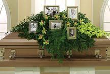 bloemstuk begraafnis