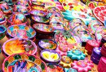 Artesanías de México.