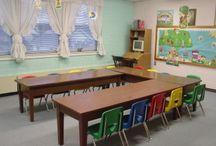 Sunday school classroom decoration ideas