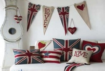 england. / ....my ancestors are from England...hence I guess it's in my blood to love Union Jacks!
