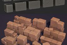 Digital Sculpting - Sculpted Assets