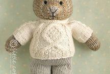 pluszaki na drutach