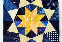 Paper pieced block patterns