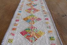 Patchwork a quilt