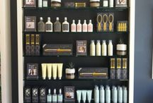 Salon retail display