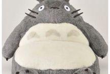Studio Ghibli  / Mostly Totoro