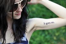 tattoos / by Sue Adams