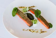 Mandarin Oriental, New York x Cathay Pacific / Delighted to partner with Cathay Pacific Airways to offer a first class culinary experience throughout 2015 featuring Mandarin Oriental, New York's Chef Christian Pratsch.  T