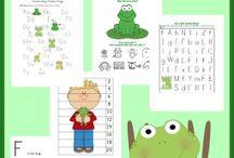 Latticed Learning: Amphibians