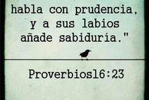 proverbios....