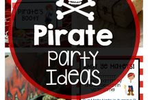 Pirate party / Patrick's first birthday possible theme: pirate party