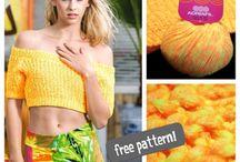 E' fatto con.. / Tanti modelli con il filato fatto a posta per loro! #pattern #modelli #trendy #moda