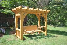 Timber Frames for Use in the Great Outdoors / Timber Frames to enjoy in the great outdoors.