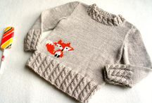 Knitted pullover ideas