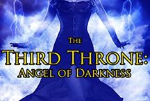 The Third Throne Series / Books that I have written for my paranormal romance series Third Throne.