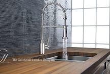 Wood Countertops / by Brett Sichello Design