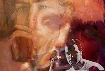 Marlon Brando Pop Art Canvas