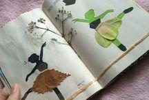 FLOWER SCRAP BOOK