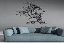 Dekoratif metal duvar aksesuarı