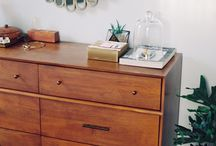 Home: Bedroom / #rukristinathome Ideas for the bedrooms in my Mid-Century Modern home.  / by rukristin: Feminist Scrapbooker