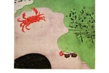 Naoko Tsurudome / Plonger dans les étendues de couleurs de Naoko Tsurudome c'est s'aventurer dans un jardin secret. Cette artiste puise son inspiration dans l'observation de la nature, celle proche de son quotidien et lui offre de belles échappées aux couleurs fortes et lumineuses. Avec une douce poésie que fredonne les chants d'oiseaux et feuilles rencontrant le vent, laissez votre esprit vagabonder. Les gravures de Naoko Tsurudome sont en édition de 10 à 15 exemplaires maximum pour les plus petits formats.