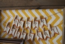 Fall Birthday Ideas / by Kathleen McElroy