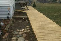 Timber pathways
