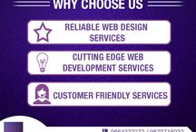 What we do / Our Services what we offer to your clients.