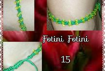 macrame anklet by Fotini Fotini Mazaraki