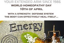 "World Homeopathy Day – 10th of April / Homeopathy is based on the principle of 'like cures like' – in other words, a substance taken in small amounts will cure the same symptoms it causes if it was taken in large amounts and used over 200 million people all over the world. Every year across 7 continents, ""World Homeopathy Day"" is celebrated on 10th of April as a tribute to the founder of Homeopathy, Dr. Friedrich Samuel Hahnemann (born 10 April 1755, Germany)."