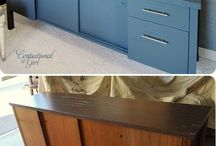DIY paint makeover
