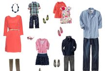 Session Helps - What do I wear? / Sometimes it's intimidating deciding what to wear to a photo session, especially if there are more than 2 people in the pictures. Here are some ideas to help spark your creativity!