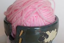 Yarn Bowls / Great functional designs for knitters everywhere..