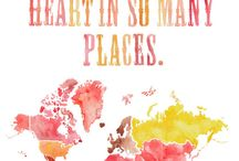 This heart of mine was made to travel