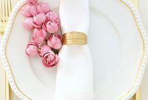 Wedding Decors Pink and Gold