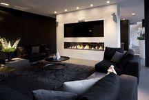 Interieur modern / Een moderne woonkamer