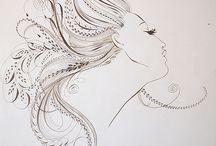 Schetsen, tekeningen,...