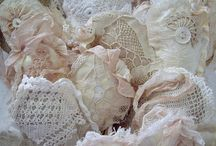 Shabby chic, vintage, lace - ohhh ♥
